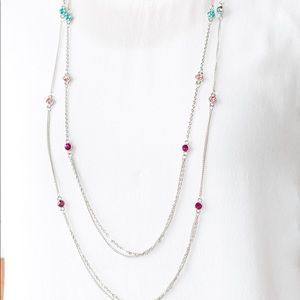Sparkle of the day multi necklace